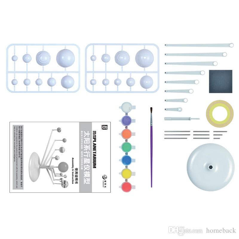DIY The Solar System Nine planets Planetarium Model Kit Science Astronomy Project Early Education For Children Wiith Retail Box