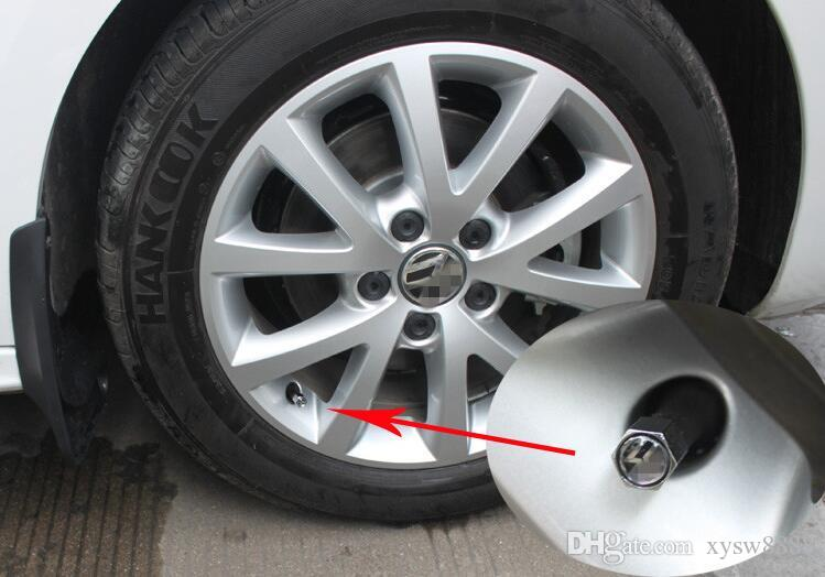 Car Styling Anti-vol S Ligne Valves Tire Wheel Car Sline Caps Stem Air Housses Pour Audi S3 S4 S5 S6 S8 A1 A3 A4 A5 A6 A7 TT RS4