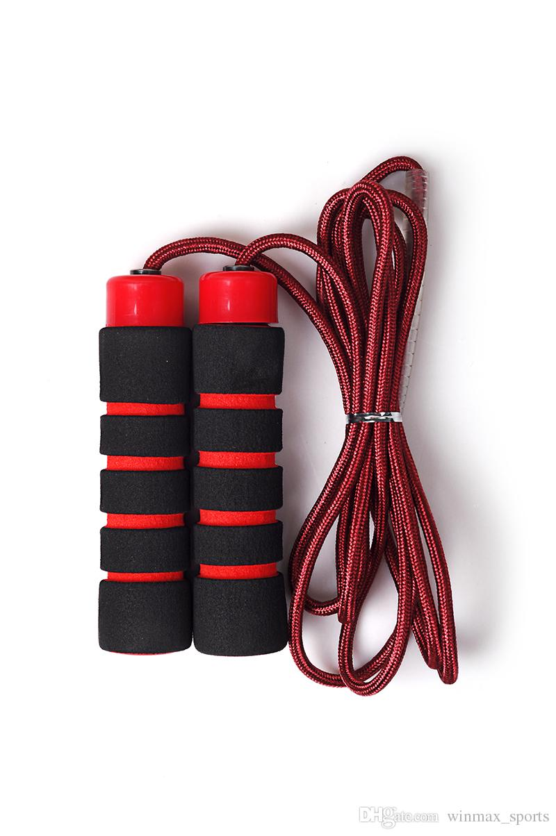 Winmax EVA yumuşak kolu 2.7 M yüksek frekanslı blister ambalaj naylon çift örgülü atlama hız atlama ipi