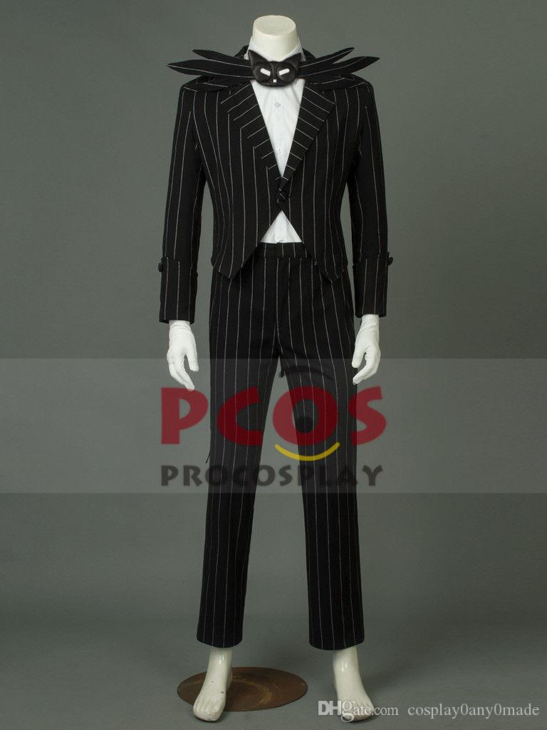 Acquista The Nightmare Before Christmas Cosplay Costume Di Jack Skellington  A  83.25 Dal Cosplay0any0made  59f6c16ef47