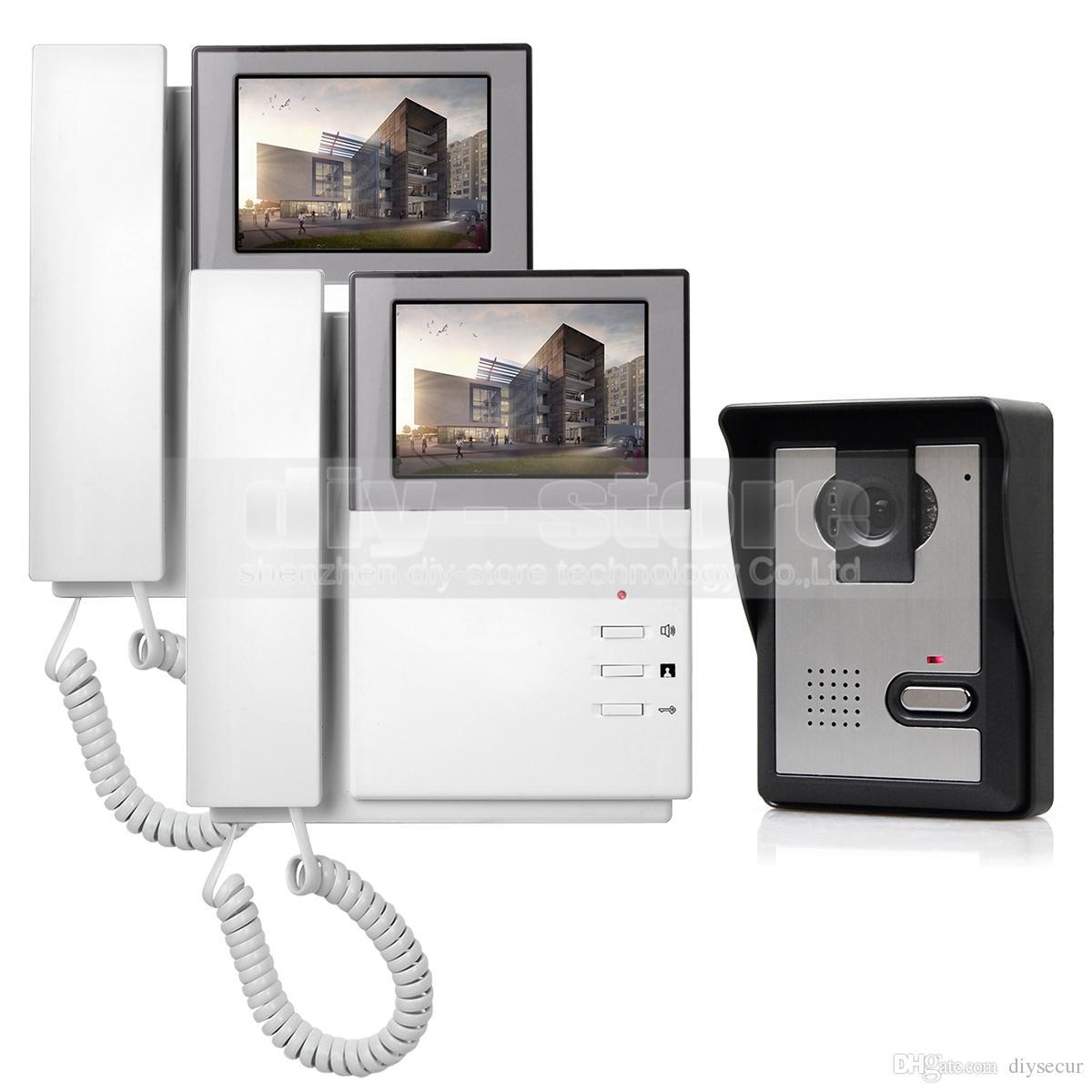 800 X 480 HD 4.3inch Video Intercom Video Door Phone Doorbell 1 ...