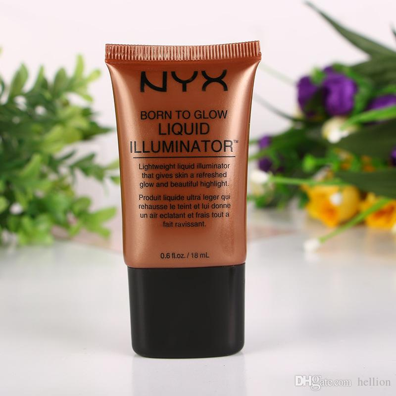NEW HOT NYX Nude makeup concealment concealer four-color BB cream skin care make-up moisturizing liquid illuminator free ship