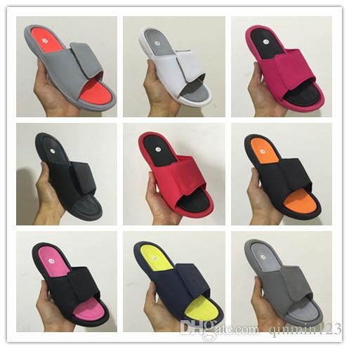 Wholesale 6 VI slippers 6s red Slide sandals Hydro beach outdoor men shoes casual running Sports 4 5-13 sneakers size 36-47