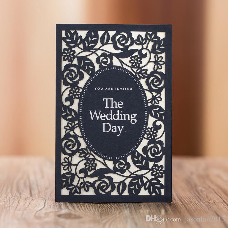 Modelos de convites para casamentos dark blue wedding invitation ver imagem maior stopboris Gallery