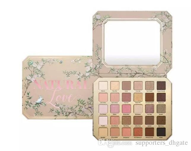 Makeup eyeshadow palettes Chocolate Natural Love Eye Shadow cosmetics Collection Ultimate Neutral 30 Color set free shipping DHL