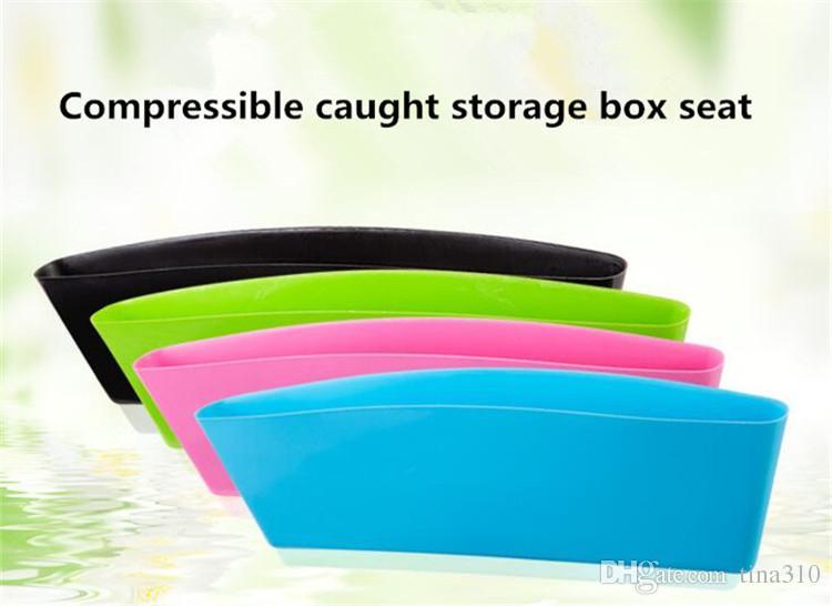 i Car storage Bag Box Seat Pocket Car Seat Catcher Stow Tidying Pocket Bags Contenitore di immagazzinaggio di auto box Car Organizer A0159