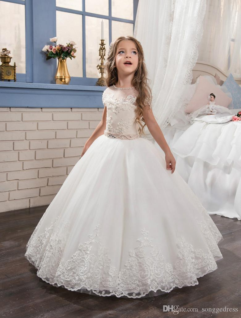 508c67ec793 Tulle Flower Girl Dresses Macys