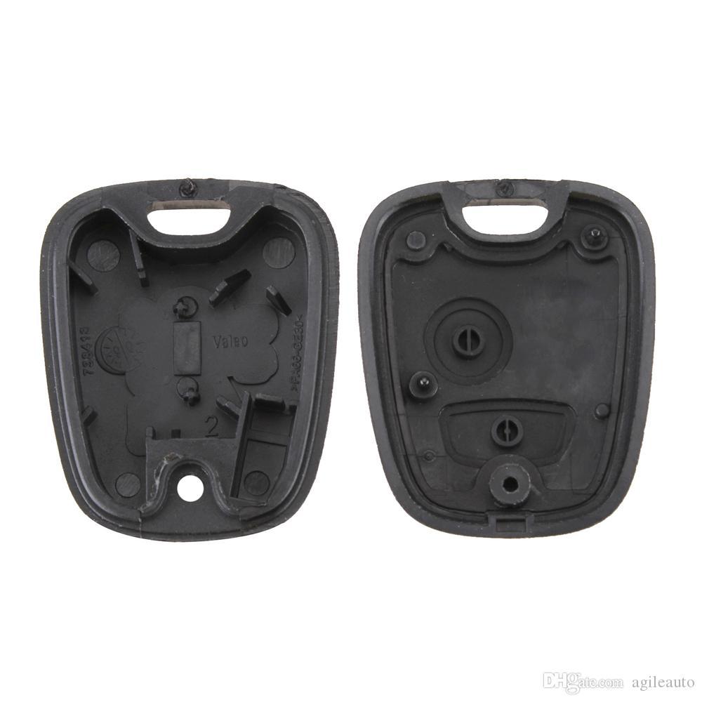 Peugeot 2 pulsanti di ricambio chiave di ricambio telecomando con custodia PEUGEOT 106 107206 207 207 307 406 407 CIA_40Q