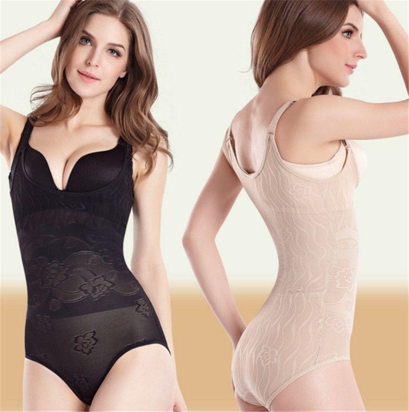 08619ea508 Thin Bodysuits Seamless Body Waist Trainer Girdle Slimming Underwear ...