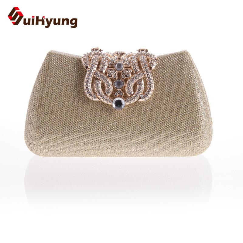 Wholesale Women Clutch Bag Fashion Glitter Diamond Crown Buckle ... 1f22f205387c