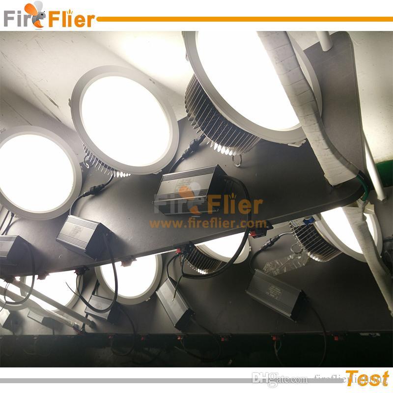 Livraison Gratuite 50w 80w 100w Led down 150w station lampe intégrée 200w industrielle construit dans le luminaire 120w bureau led lumière