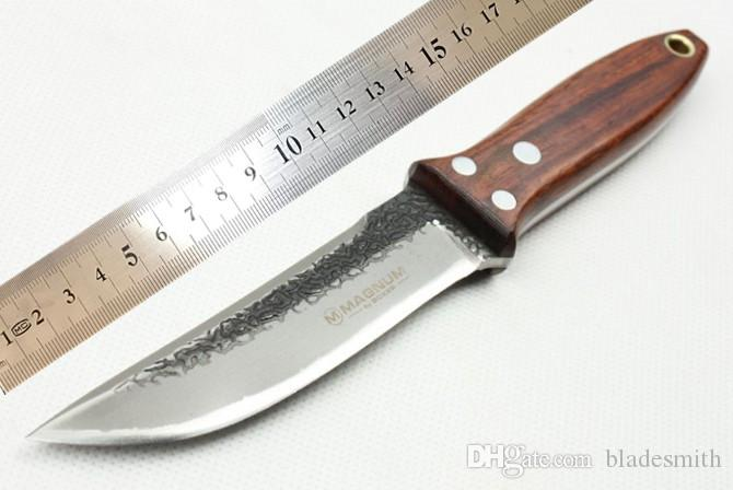 maag south pure manual hand forged knife, high carbon steel blade sharp, strong and durable