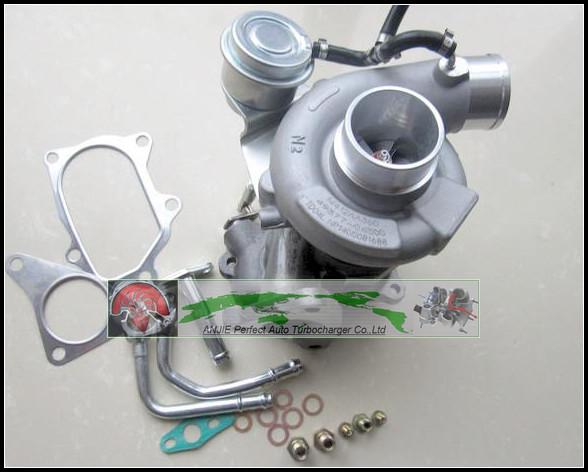 Turbo For SUBARU Forester Impreza 1998- 58T EJ20 EJ205 2.0L 211HP TD04L 49377-04300 14412-AA360 Turbocharger with gaskets pipe (2)