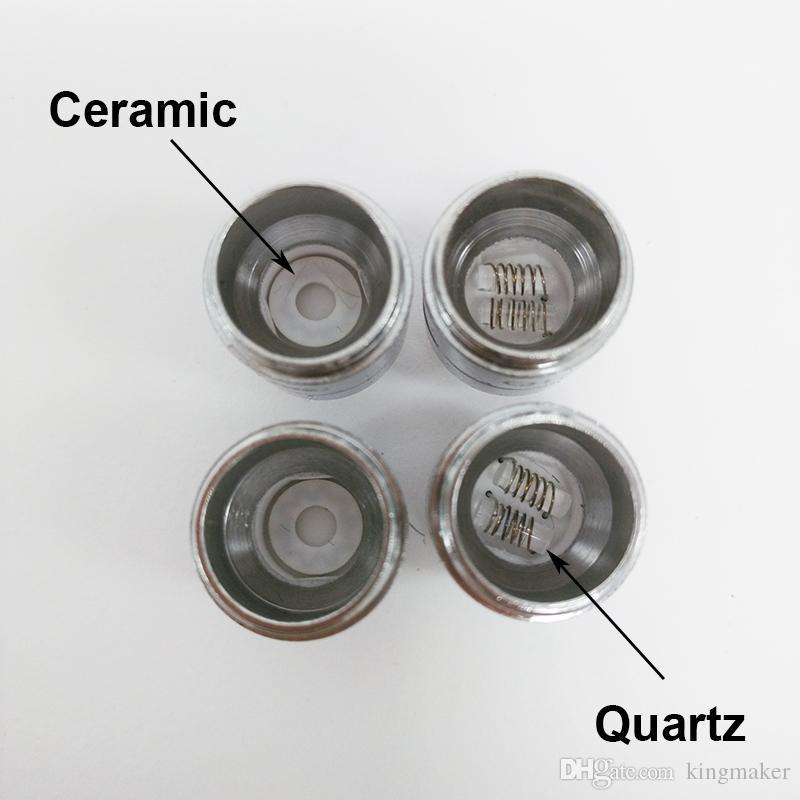 2017 Autentico originale Yocan Evolve Inoltre bobine sostitutive Heater Coil Scaldacera vaporizzatore quarzo Bobine ceramici Dry Herb Vaporizer