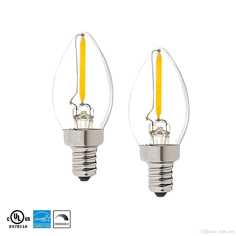 C7 Led Bulb >> C7 Led Filament Bulb E12 Candelabra Base Household Night Light 0 5