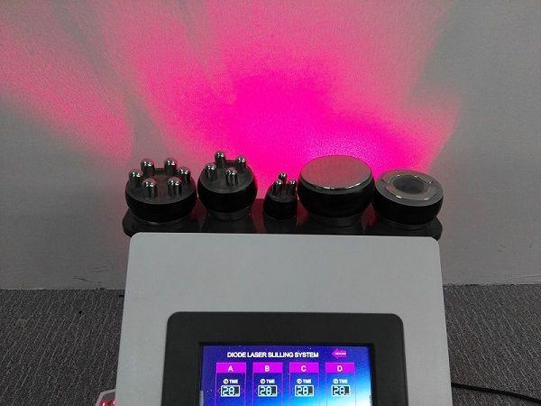 6 em 1 lipo tripolar rf multipoal rf facial levantamento de vácuo terapia bunda realce máquina