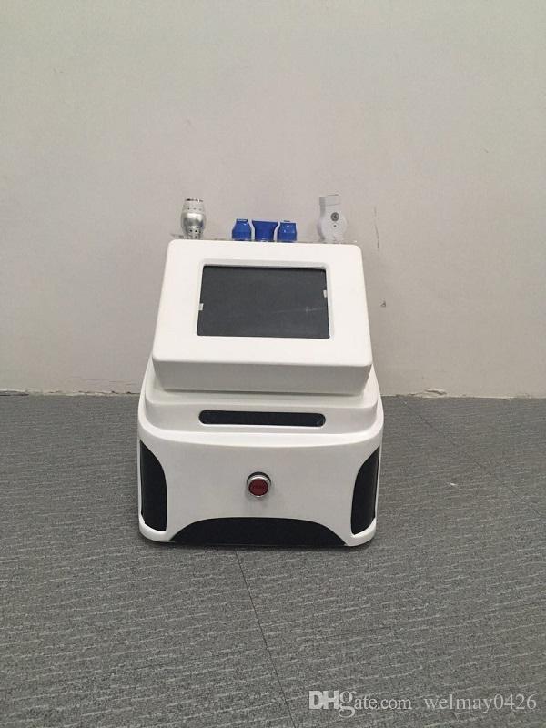 portable 5 teste radiofrequenza bellezza attrezzature rimozione delle rughe anti invecchiamento sottile rf radiofrequenza frazionale