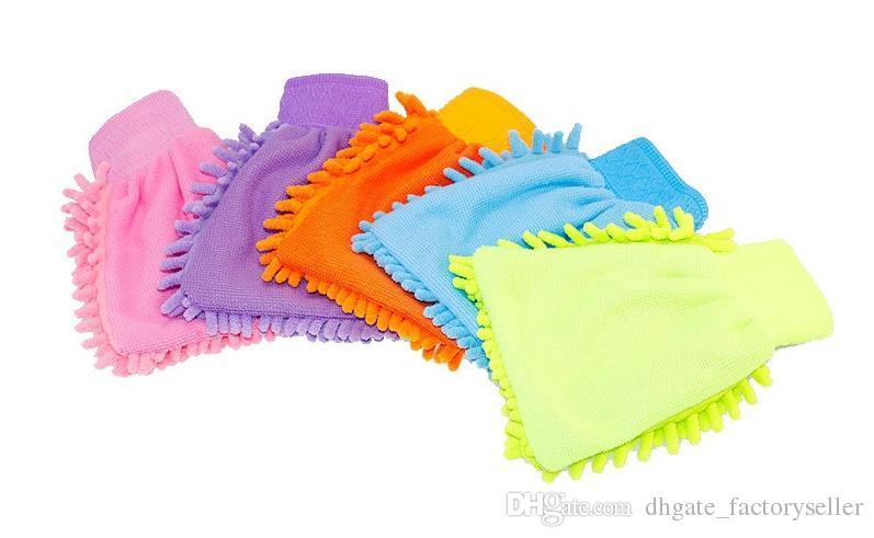 Microfiber Snow Neil fiber high density car wash mitt car wash gloves towel fast shipping