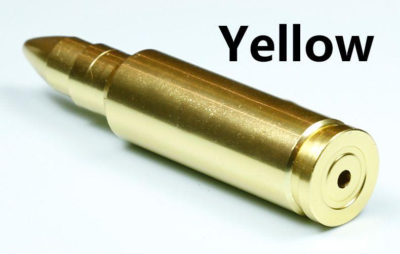 10 pz Creativo 90mm forma di proiettile foglia di erba tubi di fumo lungo tabacco metallo spezia tubo tubi di fumo gadget sigaretta colore camouflage