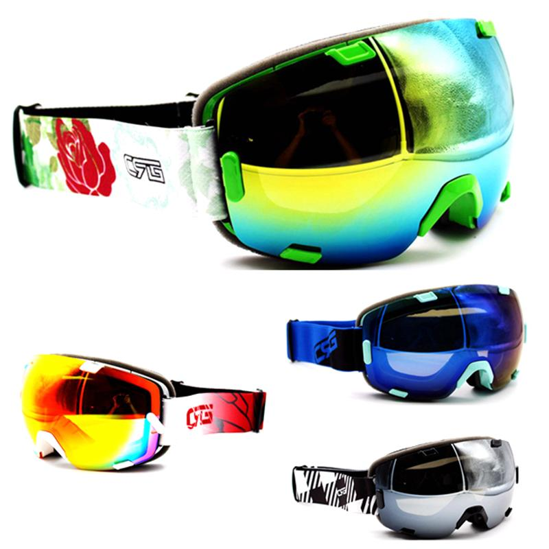 1b06043119b Online Cheap Wholesale Red Green Gray Blue Ski Goggles Double Uv400 Anti  Fog Girl S Brand Ski Mask Glasses Skiing Women Snow Snowboard Goggles By  Dinaha ...