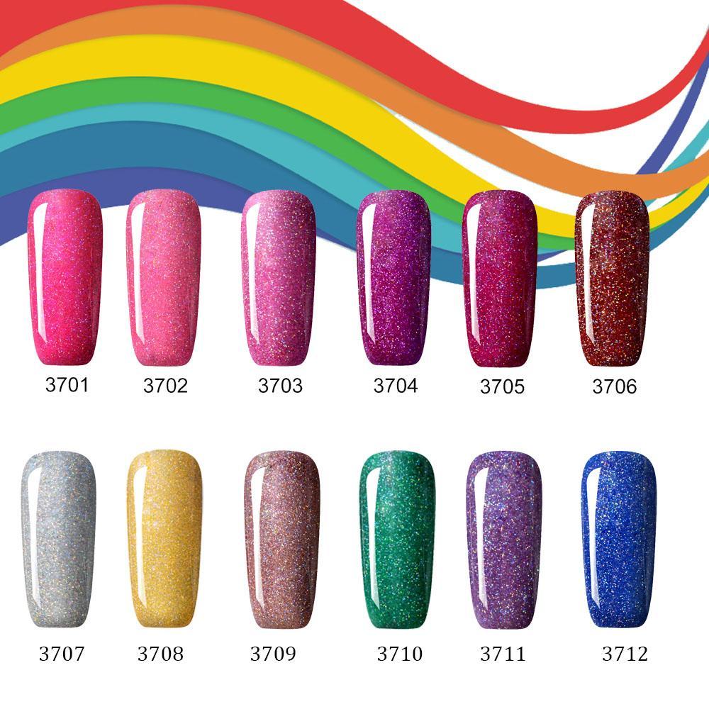 Wholesale 10ml Uv Nail Gel Polish Neon Rainbow Nails Professional ...