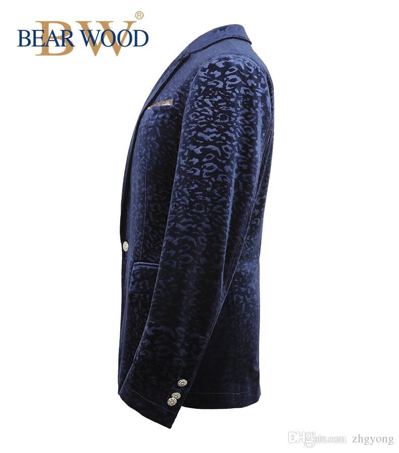 vêtements pour hommes printemps et en automne mâle vêtements pour hommes blazer velours or robe formelle veste blazer mince pour danseur chanteur