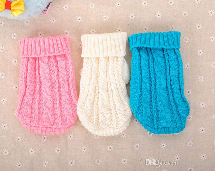 Small Dog Clothes Chihuahua Pet Dogs Cat Knitwear Dog Sweater Puppy Warm Coat Cheap Clothing for Dogs Winter Doggy Costume