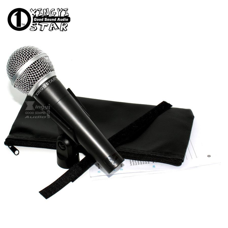 Version SM58LC SM 58LC Wired cardioïde Vocal Karaoke Handheld Microphone dynamique professionnel Karaoke Mikrofon Mikrafon bobine mobile Mic Mike