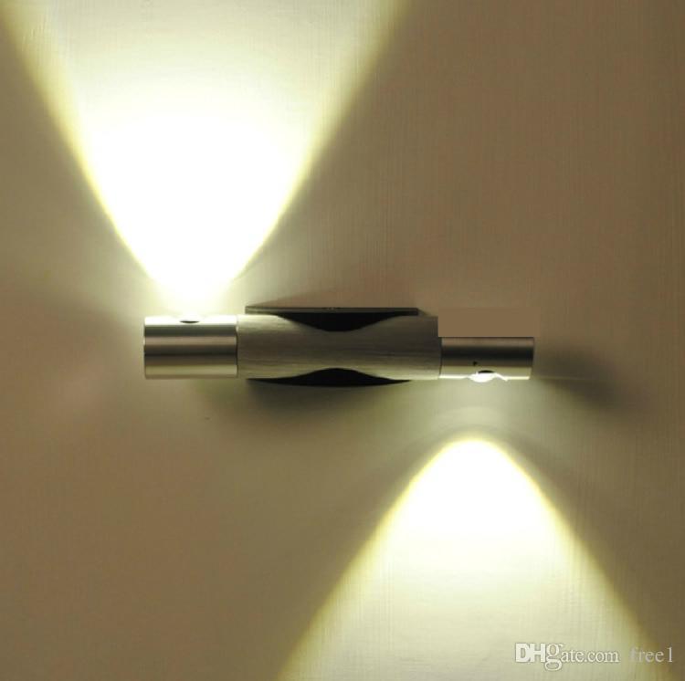 Качество Бесплатная доставка Дизайн Белый Настенный Светильник AC85-265V 6 Вт LED вверх и вниз Света Внутренний Открытый ip65 Настенный Светильник Incece CE UL