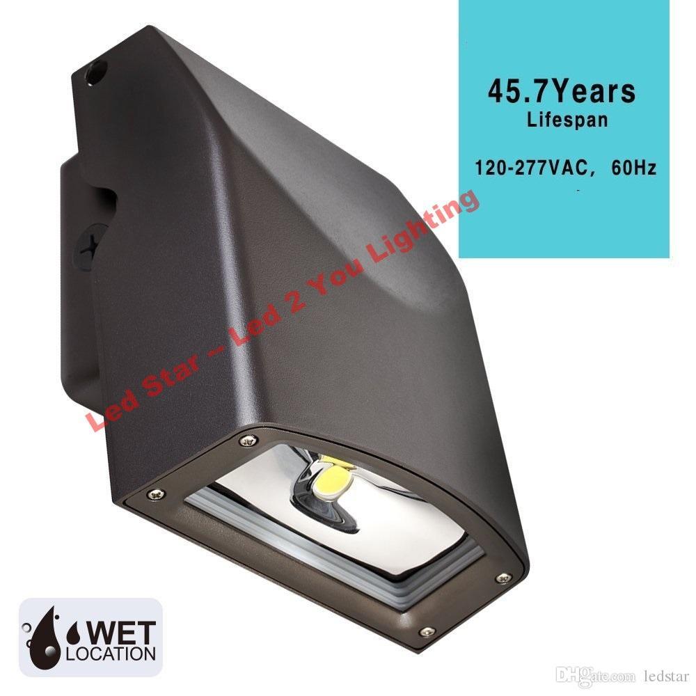 UL DLC LED Wand Pack Licht AC 110-277 V 50 Watt 80 Watt LED Outdoor Wandmontage Garten Beleuchtung Einstellbare Kopf