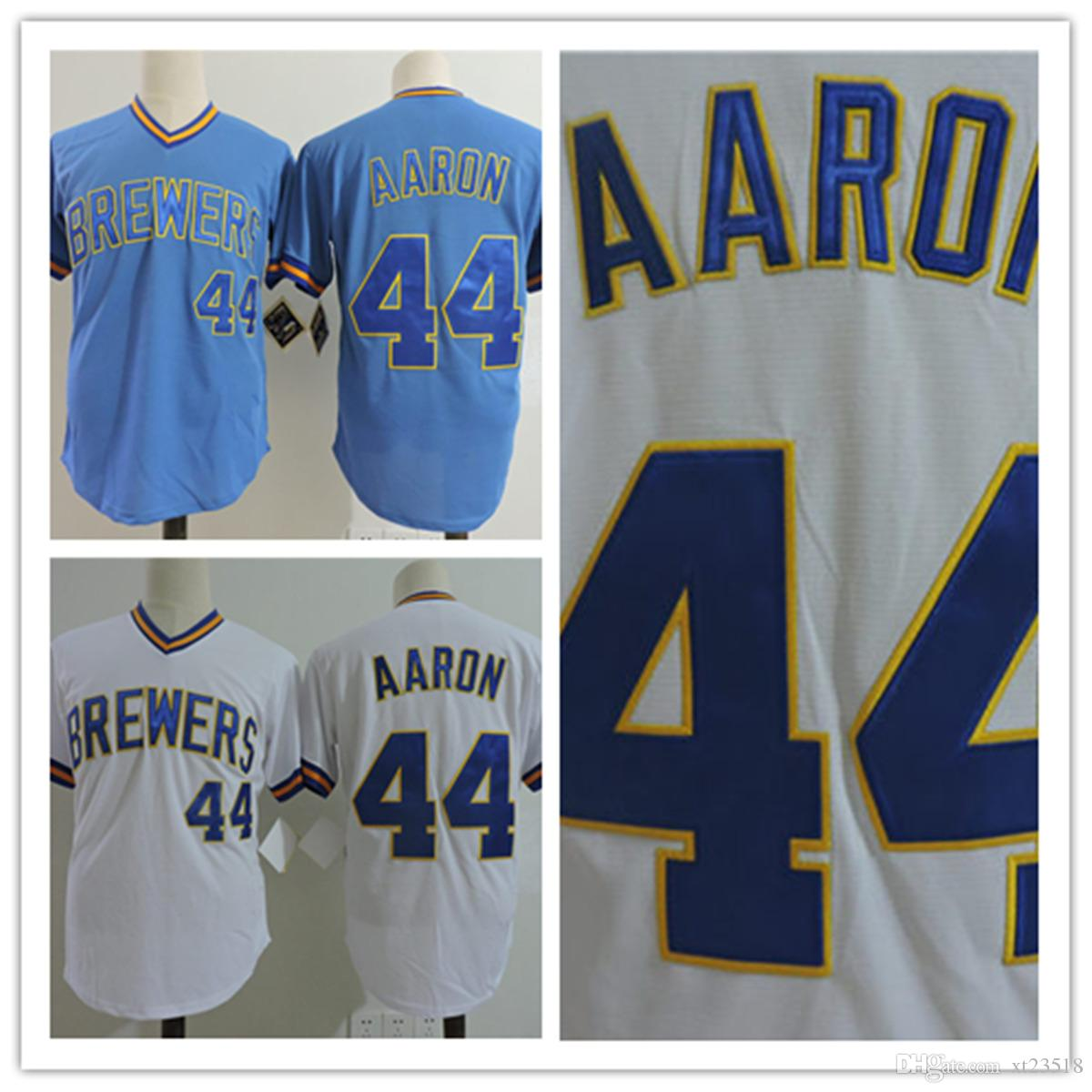 more photos d9ca9 83f14 low price hank aaron milwaukee brewers jersey 6cbe0 381d1
