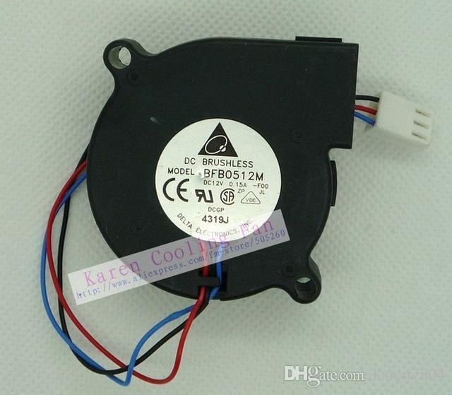 5cm BFB0512H BFB0512HH BFB0512L BFB0512M Gebläse Lüfter