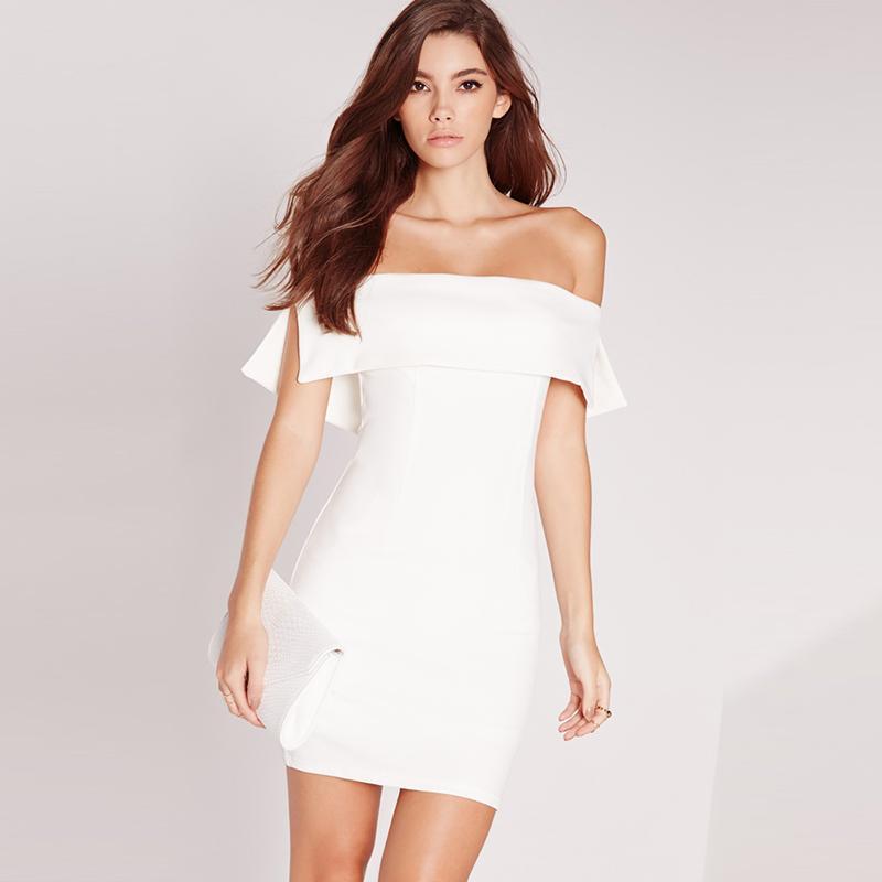 Solid White Dresses for Juniors