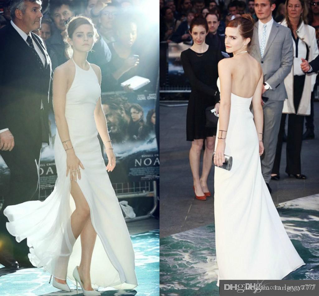 White dress emma watson - See Larger Image