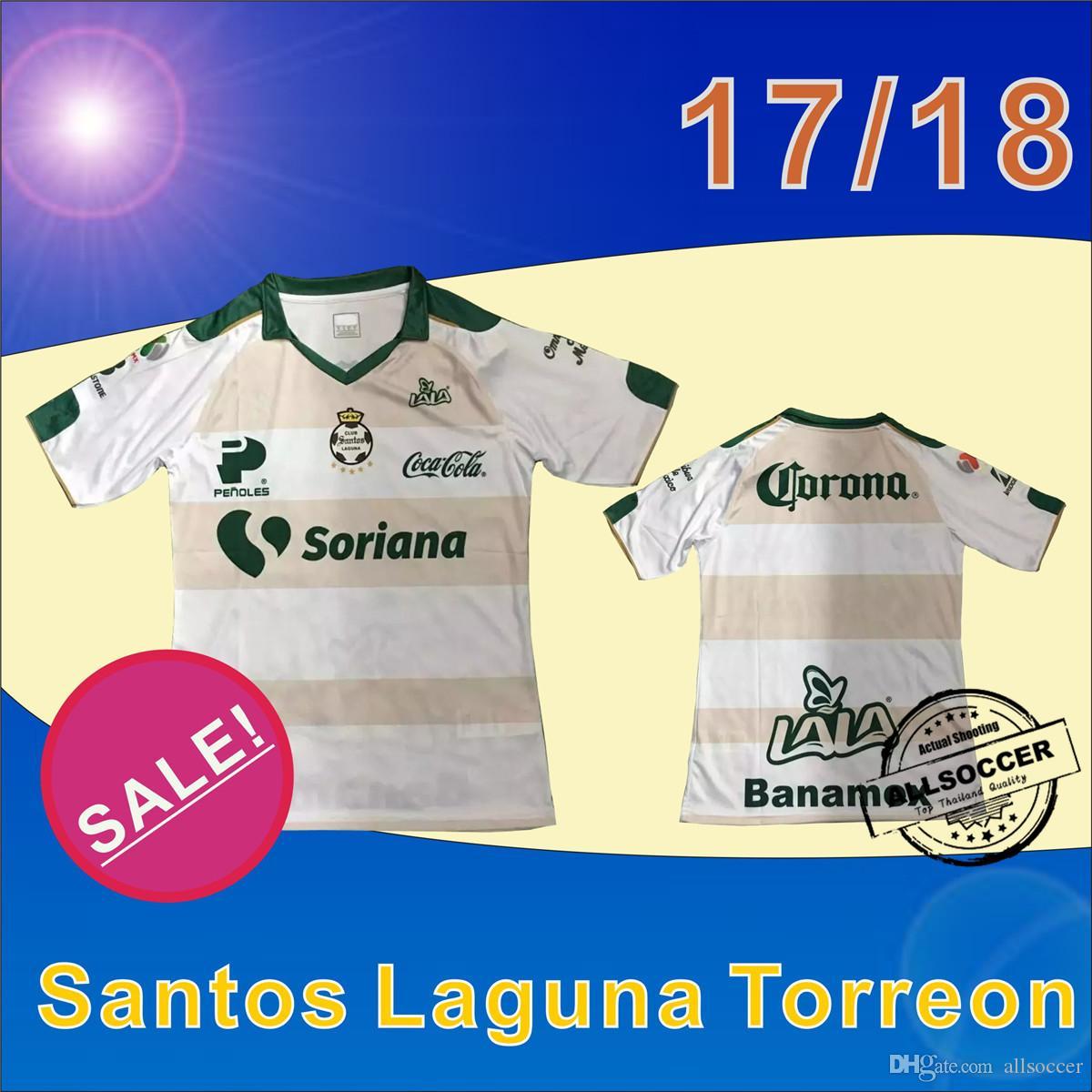 Nuevo Jersey De Fútbol Blanco De Santos Laguna Torreon, Fútbol ...