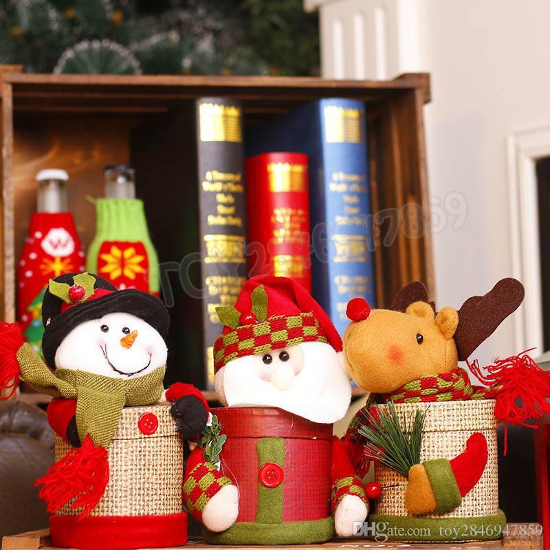 Großhandel Weihnachtsdekoration Schöne Süßigkeiten Aufbewahrungsbox ...