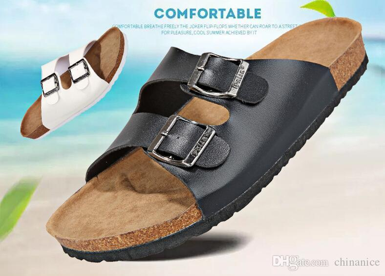 e567033ae Wholesale Size 39-44 Cork New Summer Style Fashion Men Women Flats ...