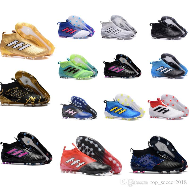 Good 2018 Top Messi Soccer Cleats ACE Tango 17+ Purecontrol Outdoor Soccer Shoes  Mens Soccer Boots Best Qaulity Original Messi Football Boots Soccer Shoes  Indoor ...