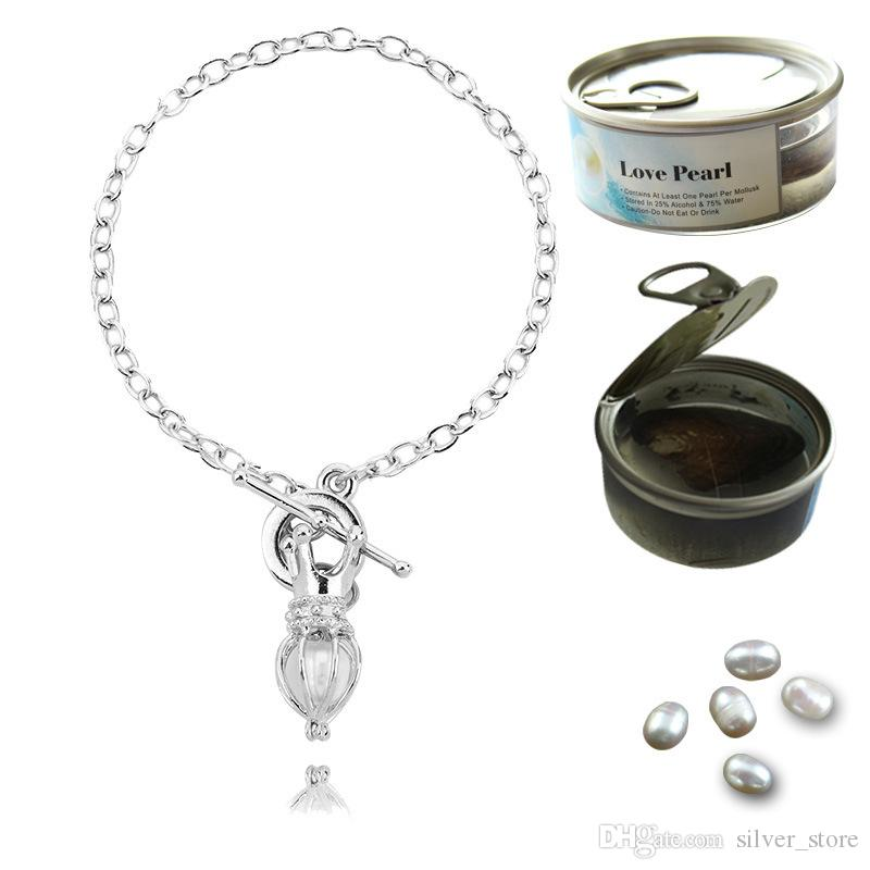 Nouvelle arrivée vente créative bracelet de perles d'huître creux peut ouvrir pendentif bricolage FB305 ordre de mélange 20 pièces beaucoup bracelets de charme