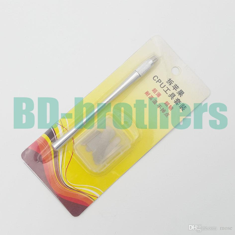 IC Chip Repair Thin Blade Tool CPU Remover Burin To Remove iPhone Processors NAND Flash From Mainboard For BGA A5 A6 A7 A8 A9