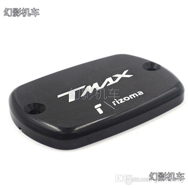 High Quality Volero Motorcycle CNC Brake Fluid Reservoir Cap cover For Yamaha Tmax 530 12-15 Tmax 500 2008 - 2011