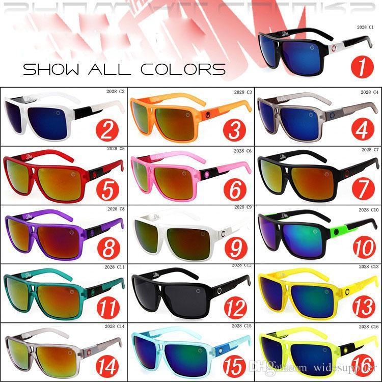 Gafas de sol Ship Free JAM 2028 deslumbran gafas de sol de color gafas de moda Hombres gafas de sol de diseño de marca