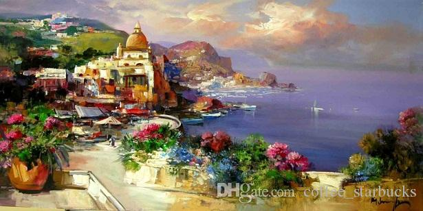 2019 framed mario smeraglia italy abstract art oil for Paesaggi marini dipinti