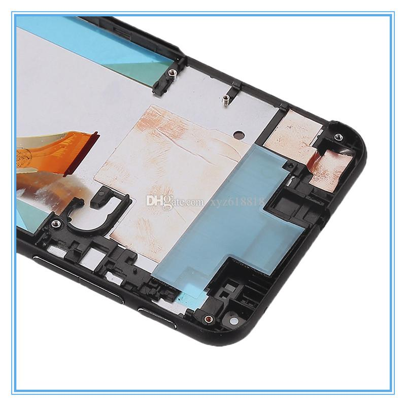Black White LCD Display For HTC Desire 816 816W D816 Touch Panel Screen Digitizer with Frame Full Glass Assembly Replacement