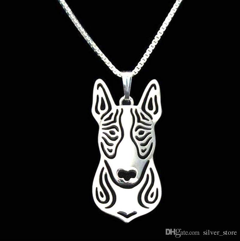 Hot sale Shepherd Little Animal Necklace Pendant Chain Key Chain Female Charm WFN453 with chain a