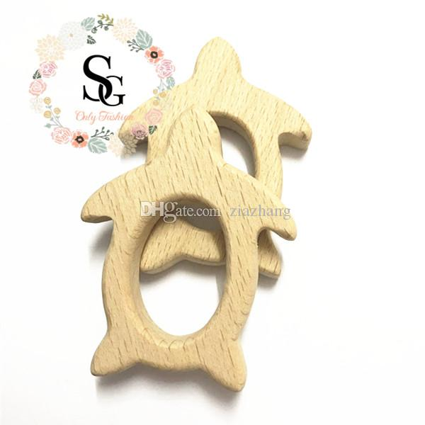 10 шт в lotNatural птица древесины прорезыватель - птица древесины прорезыватель. Высокое качество необработанной древесины прорезывания зубов игрушка прорезыватель, BPA бесплатно безопасности ребенка прорезыватель