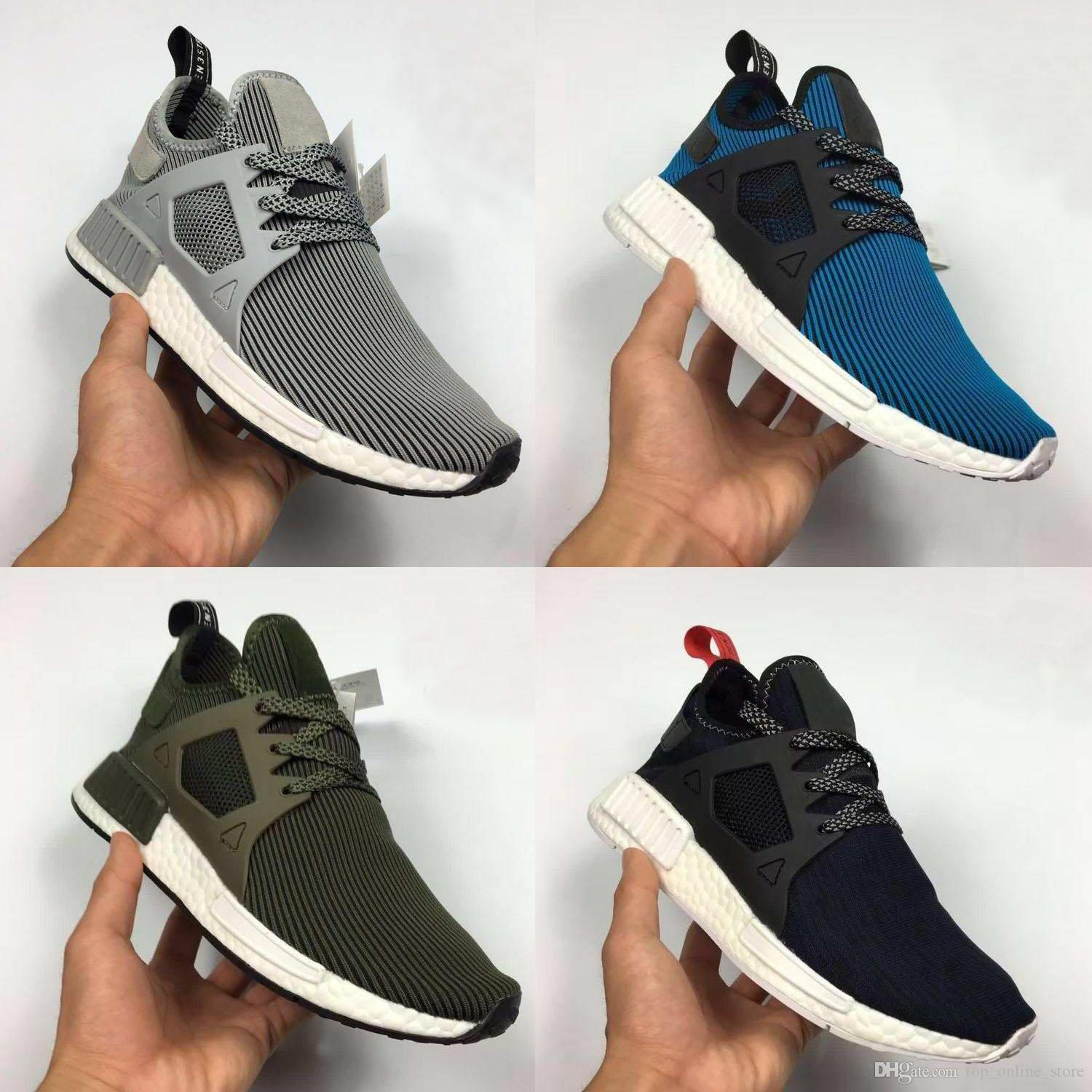 2f5b5e3046576 NMD XR1 Glitch Black White Blue Camo Pack Ultra Boost For Men Women Running  Sports Shoes Come With Receipt Bag Sock Box Sports Shorts Shoe Shop From ...