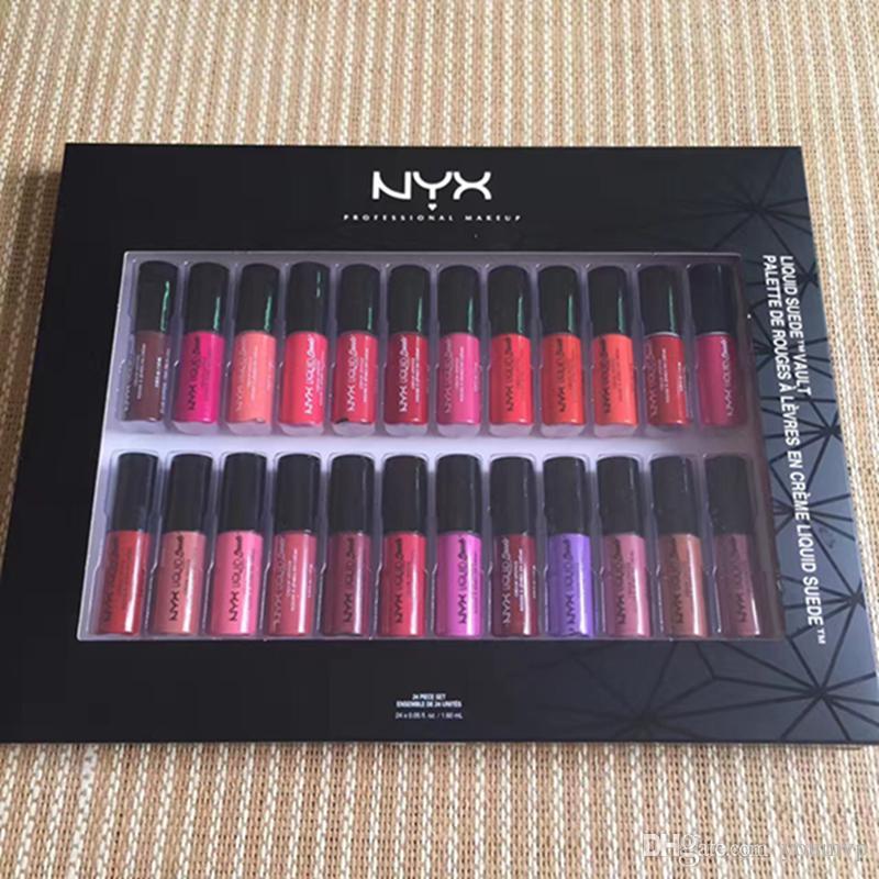 Nyx Liquid Lipstick Set Nyx Matte Lipstick Lipstick Set No Fading ...