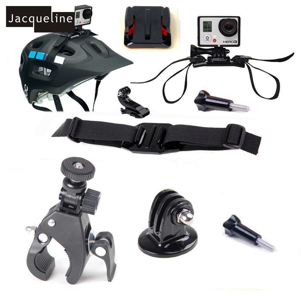 Freeshipping Travel Accessories Kit Outdoor Sport Mount Case For GoPro Hero 5 Hero 4 go Pro Hero 3+ 2 SJCAM H9 Case bag