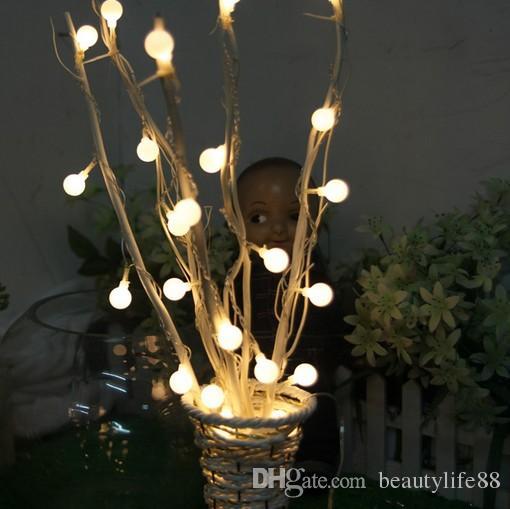 Ev Dekoratif Işıklar LED Küçük Işıklar Işıklar Oda Oturma Odası Düzenleme Yuvarlak Vazo Çiçek Ağacı Dendrites Doğum Günü Sürprizi